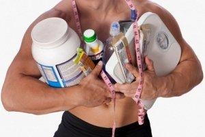 Спортивные добавки при наборе мышечной массы