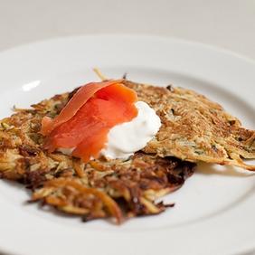 Рецепт кабачковых оладьев с сыром