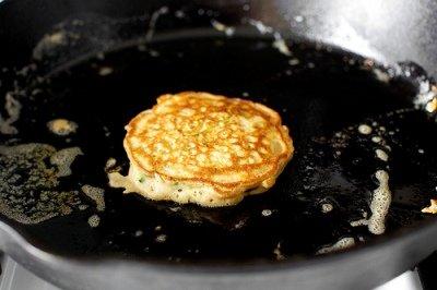Рецепт оладьев с кабачков