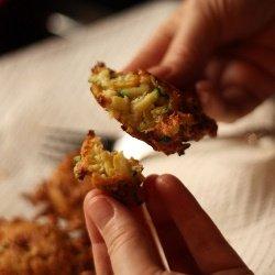 Оладьи из кабачка с чесноком - рецепт