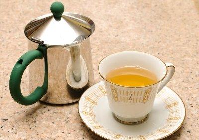 Имбирный чай готов