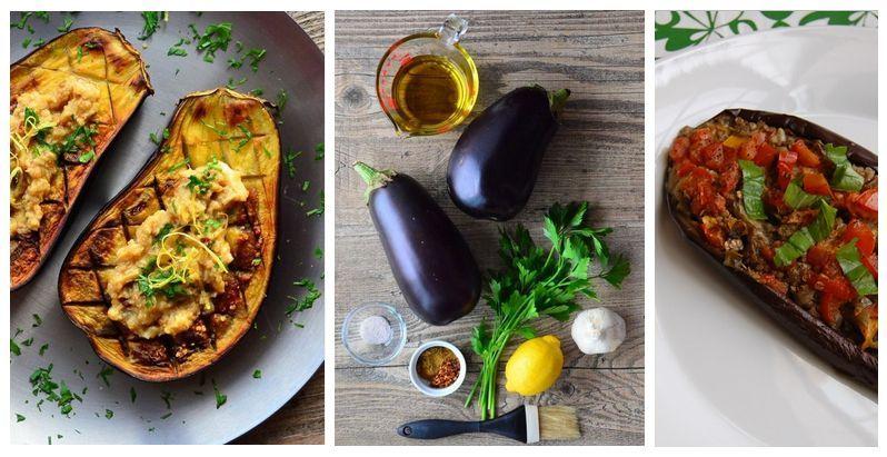 Лодочки из баклажанов — пошаговые рецепты
