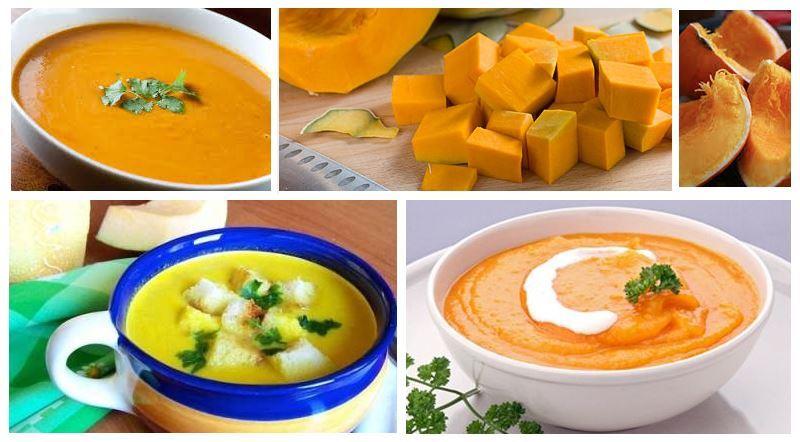 суп из тыквы рецепты приготовления с фото
