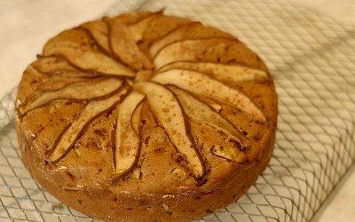 Грушевый пирог готов