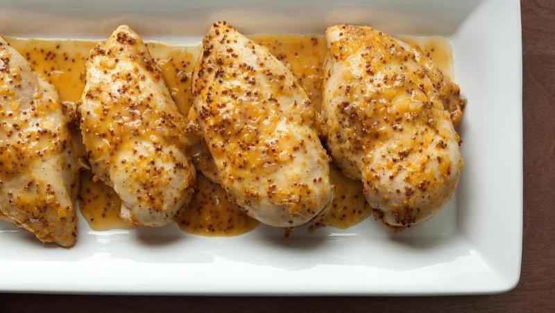 Курица в медово-горчичном соусе в духовке