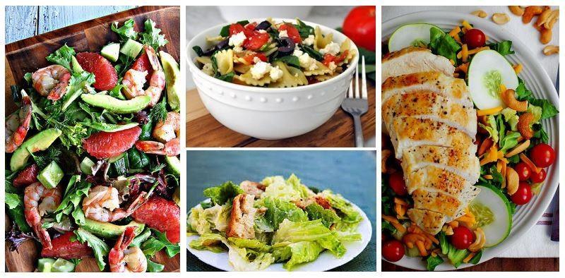 Легкие салаты — рецепты с фото