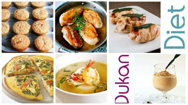 Рецепты для «Атаки» диеты Дюкана