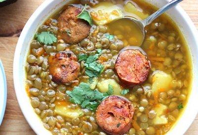 Суп из чечевицы - рецепт с фото