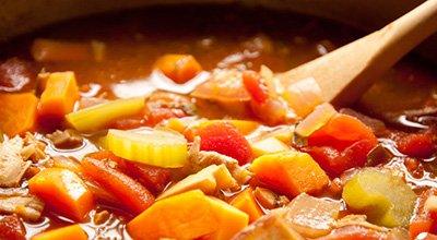 Овощной суп для палео диеты
