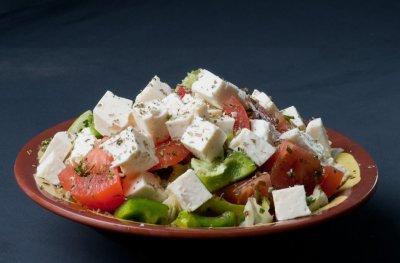 Летний Шопский салат