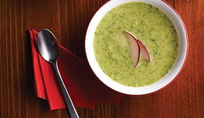 Суп из кабачков - быстрый рецепт