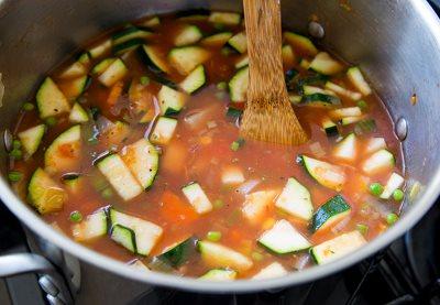 Варим овощи до готовности
