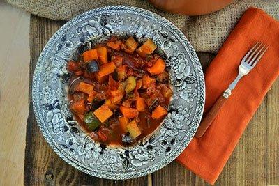 Рагу из овощей - простой рецепт