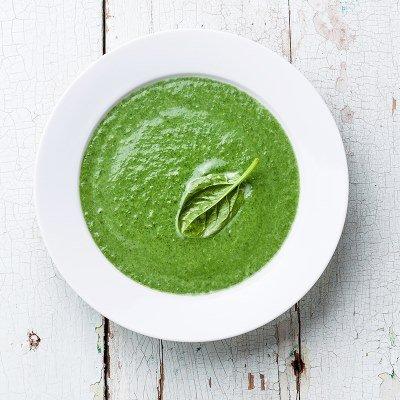 Крем-суп из сырых кабачков