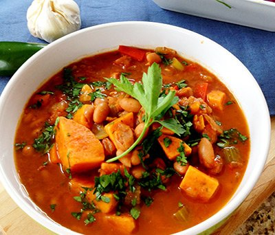 Рагу из тыквы с овощами