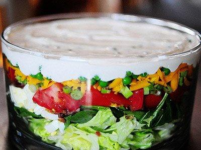 рецепты салатов из свежего зеленого горошка