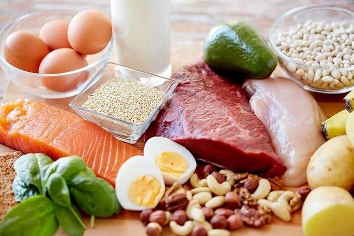 белковая диета продукты