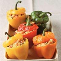 Перцы фаршированные овощами