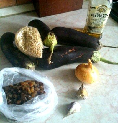 Ингредиенты для лодочек в духовке