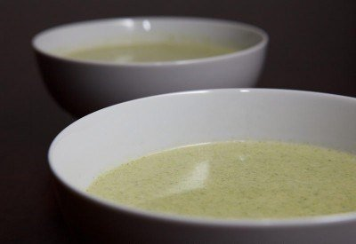 Суп-пюре из брокколи готов
