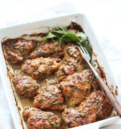 Запекаем курицу до готовности