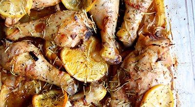 Курица с цитрусами и травами - рецепт для палео диеты