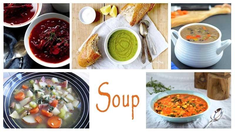 Постные супы — рецепты с фото