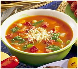 Суп с макаронами  - постный рецепт