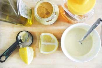 Кремовая медово-горчичная заправка