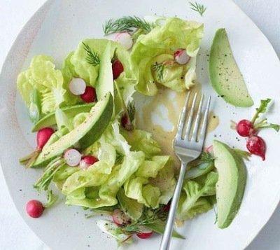Весенний салат из редиса и салата Айсберг -рецепт с фото