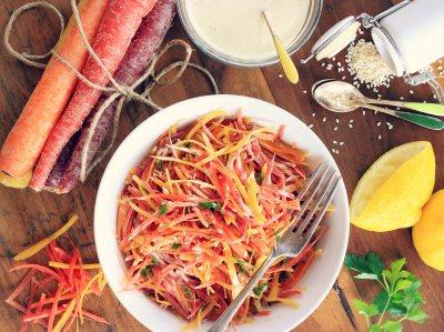 Летний морковный салат - рецепт с фото
