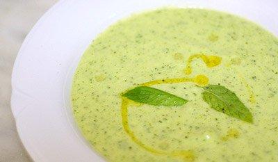 Суп из кабачков и цветной капусты