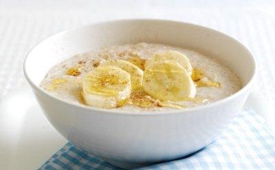 Овсяная каша с бананом - рецепт с фото
