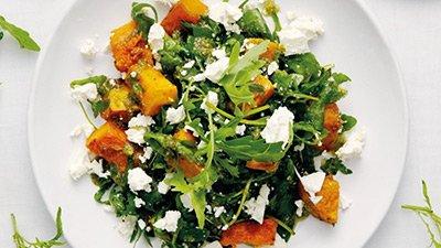 Салат из тыквы со свеклой готов
