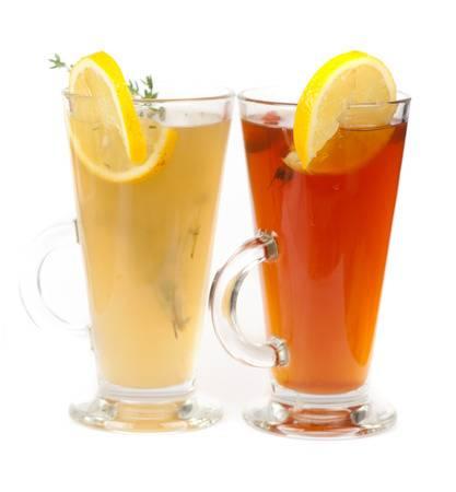 Шиповниковый и яблочный чай