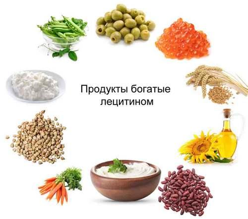 продукты богатые лецитином