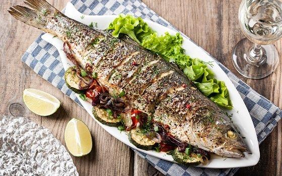 рыба запеченая